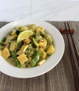 Quick and Easy Thai Green Curry Recipe (Vegan, Gluten Free)