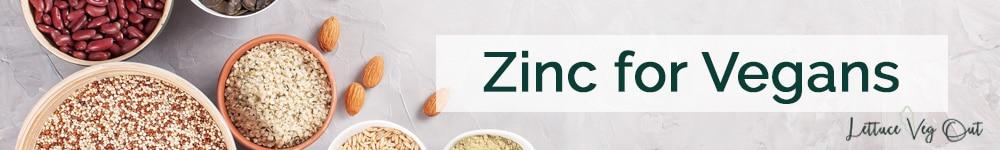 Zinc on a vegan diet vegan foods high in zinc