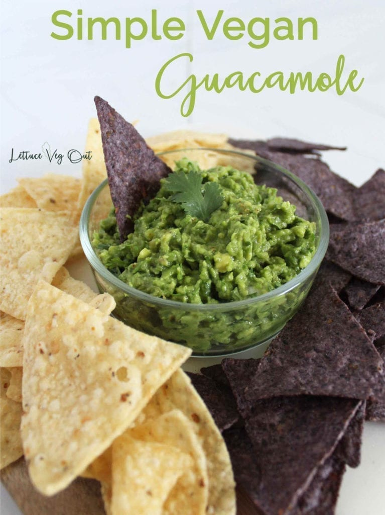 How to make vegan guacamole with variations